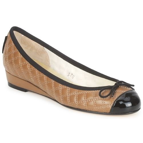 Ballerines French Sole HENRIETTA TAUPE 350x350