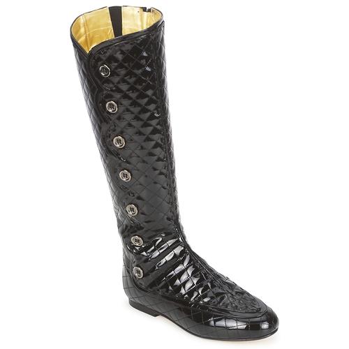 Chaussures Femme Bottes ville French Sole PUMPKIN NOIR