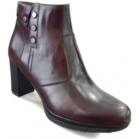 Chaussures Femme Bottines Nero Giardini MP Boots talon Marron Marron