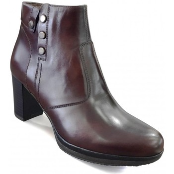 Chaussures Femme Bottines Nero Giardini MP Boots talon Marron Marron fce9311fcd3c