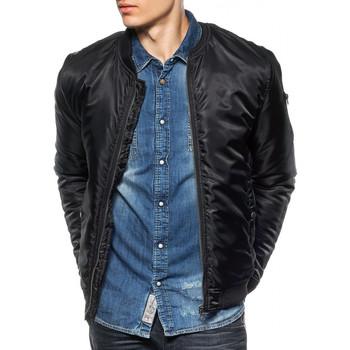Vêtements Homme Blousons Japan Rags Blouson  Morigan Noir