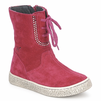 Chaussures Fille Boots Naturino VELOUR Framboise