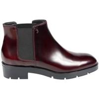 Chaussures Femme Boots Tod's Boots Lena Vernis Bordeaux Multicolor