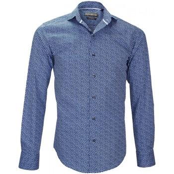 Chemise Emporio Balzani chemise imprimee fiori bleu