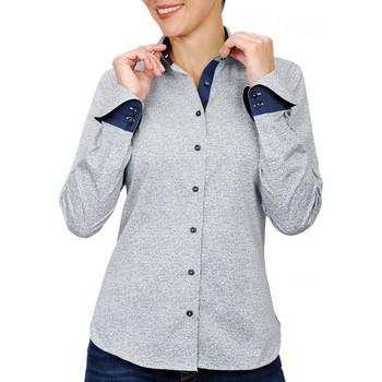 Vêtements Femme Chemises / Chemisiers Andrew Mc Allister chemise imprimee hermione bleu Bleu