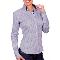 Vêtements Femme Chemises / Chemisiers Andrew Mc Allister chemise double col penny parme Parme
