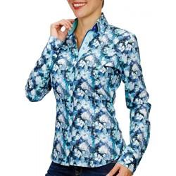 Vêtements Femme Chemises / Chemisiers Andrew Mc Allister chemise imprimee penny vert Vert