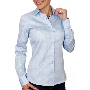 Vêtements Femme Chemises / Chemisiers Andrew Mc Allister chemise imprimee kiara bleu Bleu