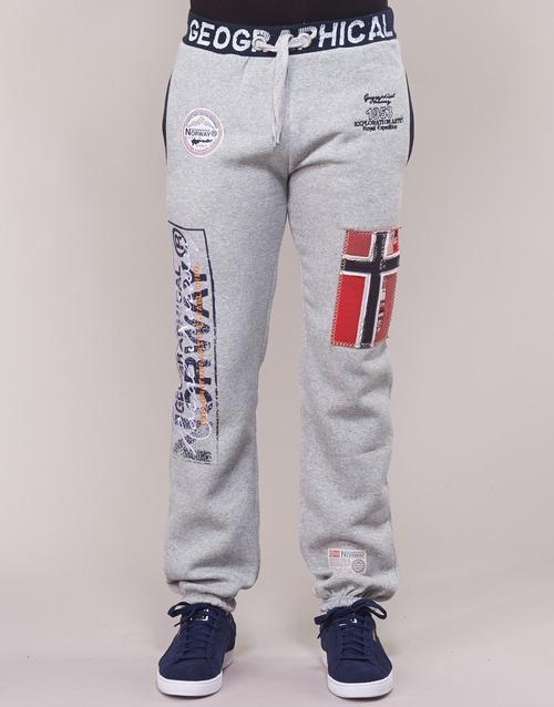 MYER  Geographical Norway  pantalons de survêtement  homme  gris