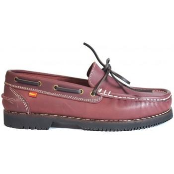 Chaussures Femme Chaussures bateau La Valenciana ZAPATOS APACHE  OLIVENZA BURDEOS rouge