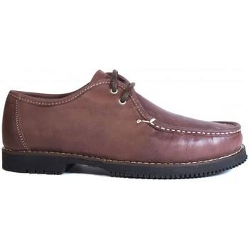 Chaussures Homme Mocassins La Valenciana ZAPATOS LÍNEA APACHE WALLABEE CORDÓN BURDEOS rouge