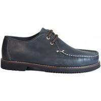 Chaussures Homme Mocassins La Valenciana ZAPATOS LÍNEA APACHE WALLABEE CORDÓN AZUL bleu