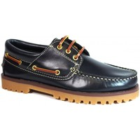 Chaussures Homme Chaussures bateau La Valenciana ZAPATOS  848 MARINO bleu