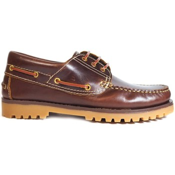 Chaussures Homme Chaussures bateau La Valenciana ZAPATOS  848 BEIRAO Marron