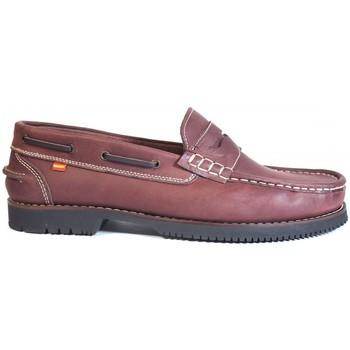 Chaussures Homme Chaussures bateau La Valenciana ZAPATOS LÍNEA APACHE ANTIFAZ BURDEOS rouge