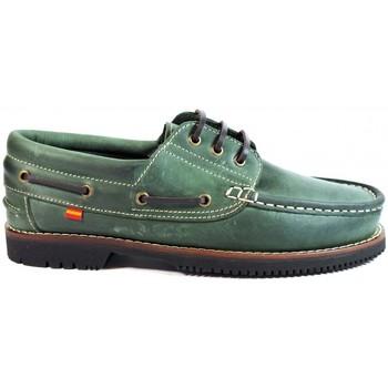 Chaussures Homme Chaussures bateau La Valenciana ZAPATOS LÍNEA APACHE CORDÓN VERDE vert