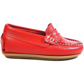 Chaussures Enfant Mocassins La Valenciana ZAPATOS NIÑOS  1017 ROJO rouge