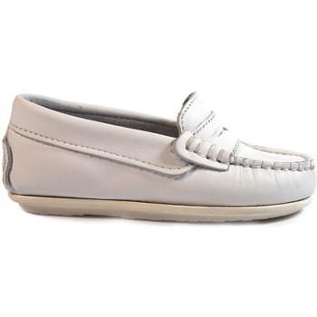 Chaussures Enfant Mocassins La Valenciana ZAPATOS NIÑOS  1017 BLANCO blanc