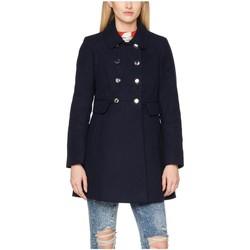 Vêtements Femme Manteaux Anastasia Manteau col de fourrure d'hiver Black