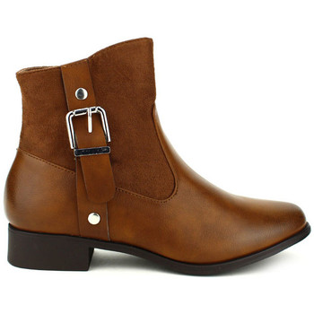 Chaussures Femme Bottines Cendriyon Bottines Marron Chaussures Femme Marron