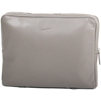 Sacs Femme Pochettes / Sacoches Gerard Henon Porte-documents collection TWIST 16244 Taupe