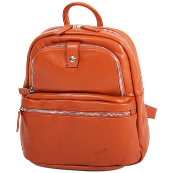 Sacs Femme Sacs à dos Gerard Henon Sac a dos collection TWIST 16265 Orange