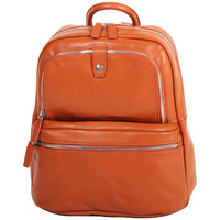 Sacs Femme Sacs à dos Gerard Henon Sac a Dos Collection Twist 16266 Orange