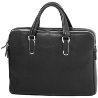 Sacs Femme Cabas / Sacs shopping Gerard Henon Porte-documents Collection TWIST 16281 Noir