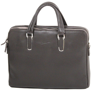 Sacs Femme Cabas / Sacs shopping Gerard Henon Porte-documents Collection TWIST 16281 Chocolat
