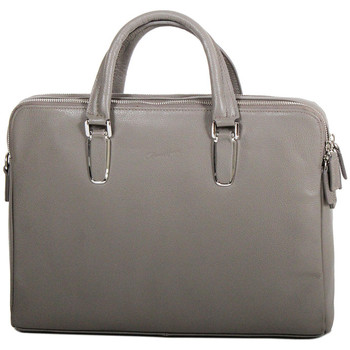 Sacs Femme Cabas / Sacs shopping Gerard Henon Porte-documents Collection TWIST 16281 Taupe