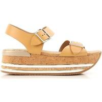 Chaussures Femme Sandales et Nu-pieds Hogan HXW3540AA40D0WC611 beige