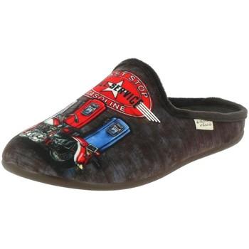 Chaussures Homme Chaussons La Maison De L'espadrille 6727 marron