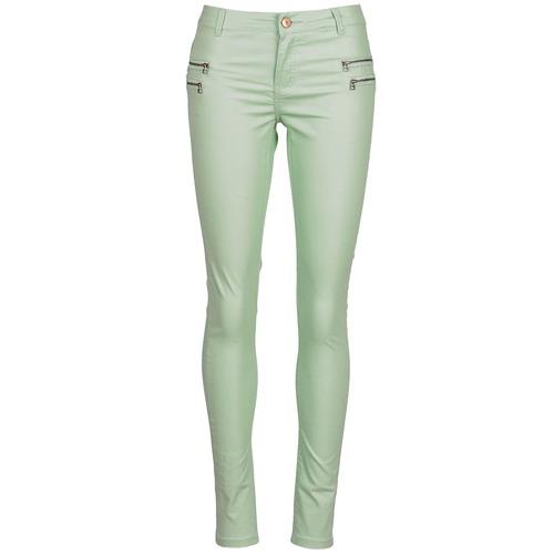 Pantalons Noisy May FAME Vert 350x350