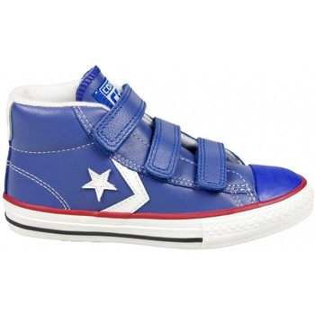 Chaussures Fille Baskets montantes Converse Basket Star Player Bleu bleu