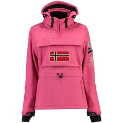 Vêtements Femme Vestes / Blazers Geographical Norway Softshell Femme Topale Rose
