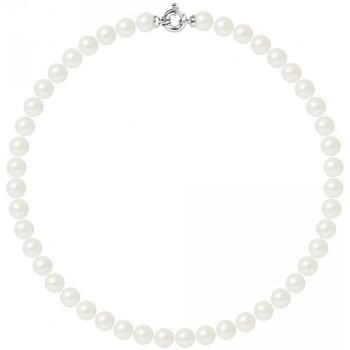 Montres & Bijoux Femme Colliers / Sautoirs Blue Pearls BPS K030 W OB Blanc