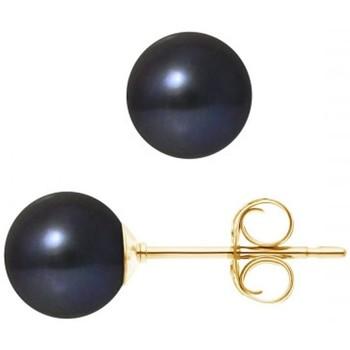 Montres & Bijoux Femme Boucles d'oreilles Blue Pearls BPS K390 W Multicolore
