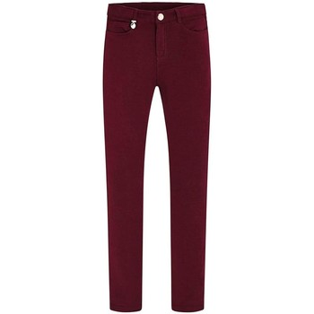 Vêtements Fille Pantalons Mayoral Pantalon  Felpa Granate Rouge