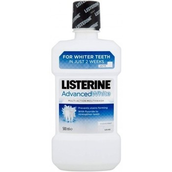 Beauté Femme Soins corps & bain Listerine Advancedwhite bain de bouche Multi action   500ml Autres