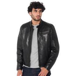 Vêtements Homme Vestes en cuir / synthétiques Daytona 73 STARGET LAMB PAOLO BLACK Noir