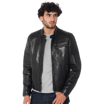 Vêtements Homme Vestes en cuir / synthétiques Daytona STARGET LAMB PAOLO BLACK Noir