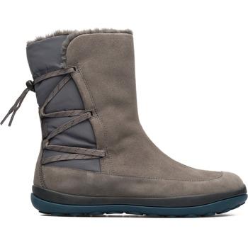 Chaussures Femme Bottes ville Camper Peu  K400298-002 gris