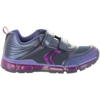Chaussures Fille Baskets basses Geox J8445A 0AJAU J ANDROID Azul