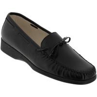 Chaussures Femme Mocassins Marco NICE Noir cuir