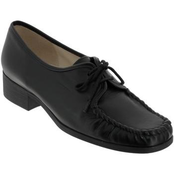 Chaussures Femme Derbies Marco NOBLA Noir cuir