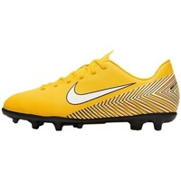 Chaussures Enfant Football Nike Mercurial Vapor 12 Club Neymar MG JR Jaune