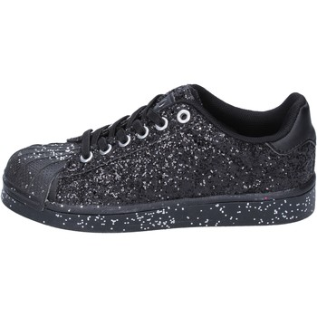 Chaussures Fille Baskets basses Solo Soprani sneakers noir glitter BT294 noir
