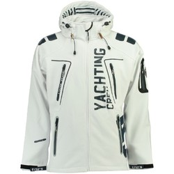 Vêtements Homme Vestes / Blazers Geographical Norway Softshell Homme Toublerona Blanc