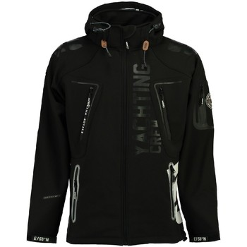 Vêtements Homme Vestes / Blazers Geographical Norway Softshell Homme Toublerona Noir