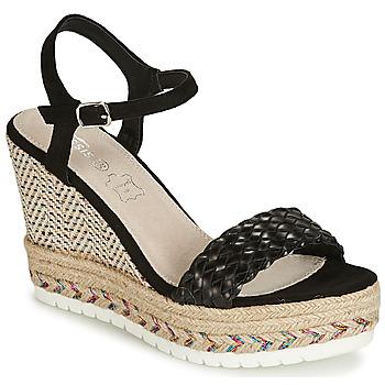 Chaussures Femme Sandales et Nu-pieds Cassis Côte d'Azur CASSANDRA Noir